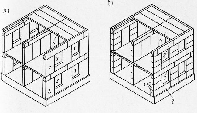 Конструктивная схема жилого