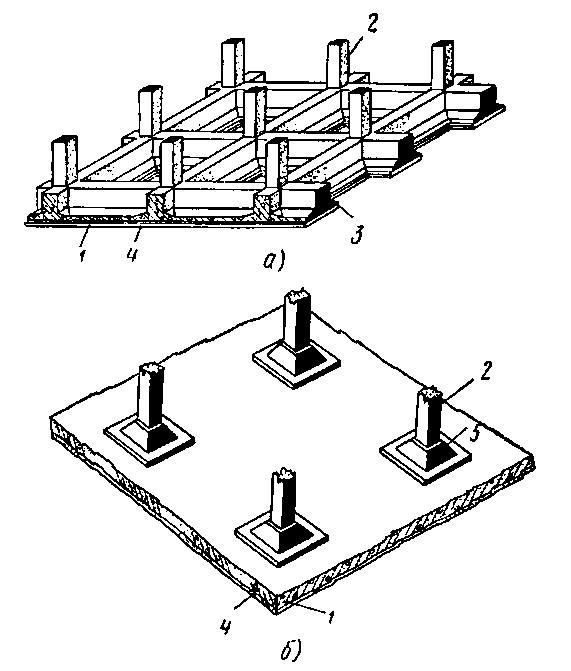 Устройство фундаментов из монолитного бетона в Мытищах