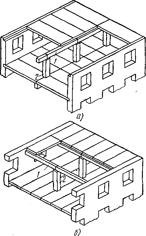 Конструктивные схемы зданий с
